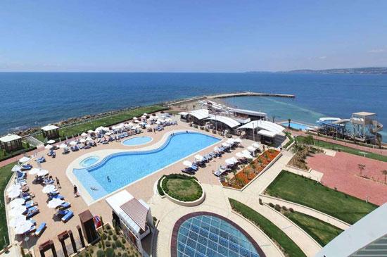 Luxe resort Alanya met zwembad