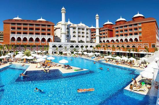 Luxe vakantie Turkije met groot zwembad
