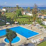 Geweldig resort direct aan zonnig strand op Corfu