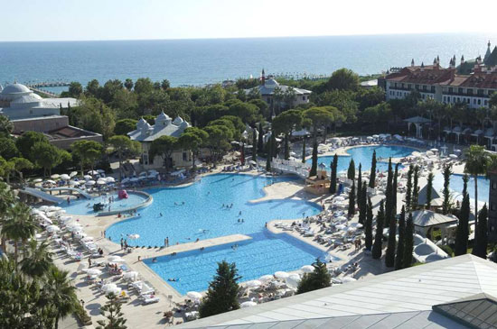Mega zwemparadijs bij prachtig hotel dichtbij Antalya
