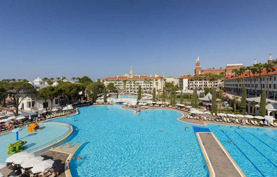 Resort Turkije met mega zwemparadijs