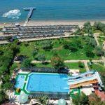 Rustig gelegen resort met waterpark aan de Egeïsche kust