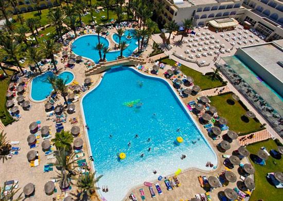 Golfen en zwemmen bij prachtig resort in Tunesië
