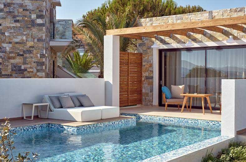 Vakantie met privé-zwembad