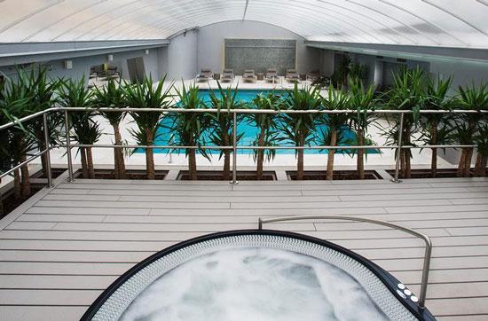 Verblijven in zwembad met Lissabon