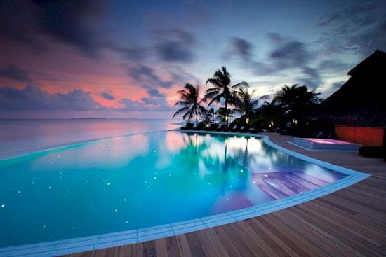 Droomhotel Malediven met zwembad