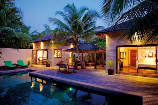 Droomvakantie Malediven met zwembad