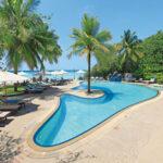 Luxe resort met zwembad op Paradise Island