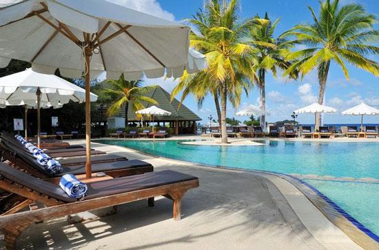 Hotel met groot zwembad Malediven