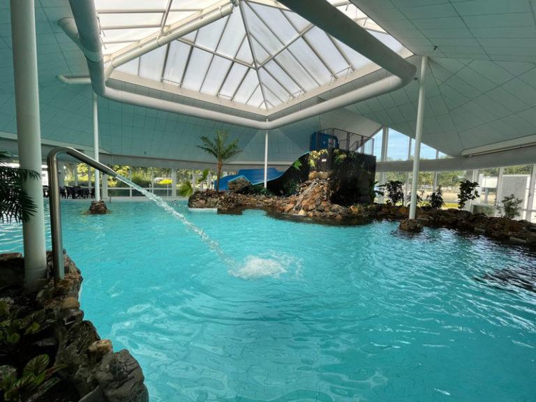 Vakantiepark met groot subtropisch zwembad in Limburg