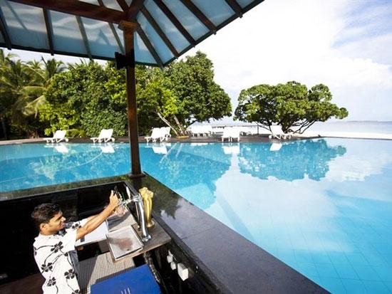 Vakantie Malediven met zwembad