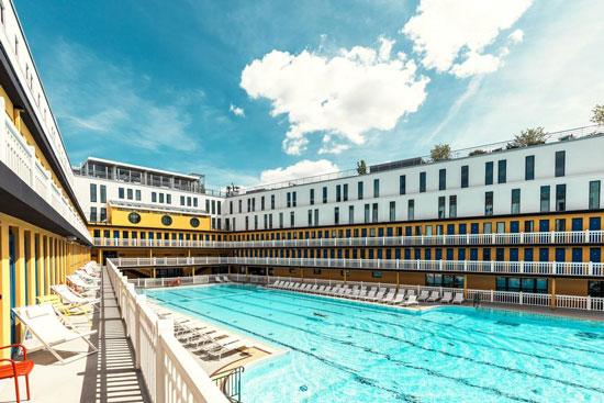 Grootste zwembad van Parijs