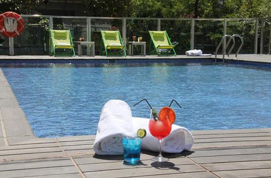 Verblijf centraal Valencia met zwembad