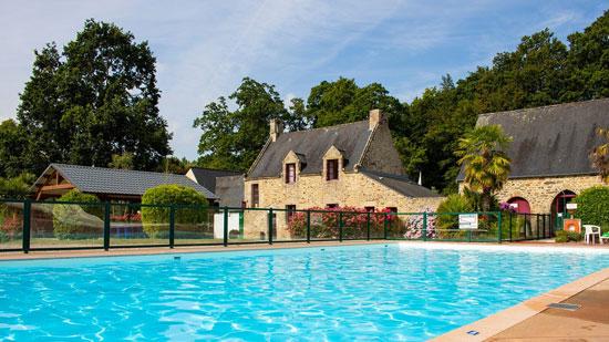 Vakantie Bretagne met groot zwembad