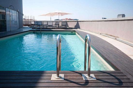 Leuk zwembad in Barcelona