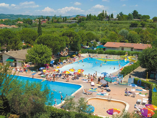 Vakantie Gardameer met zwembad