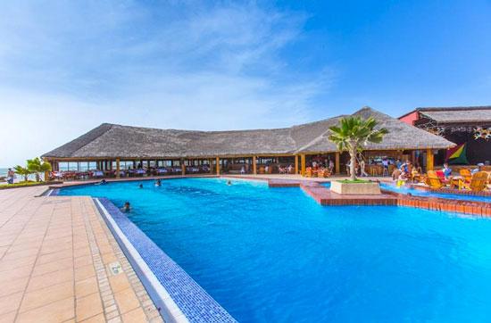 Hotel Senegal met zwembad