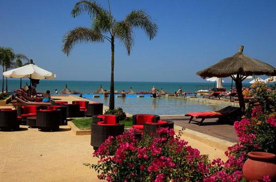 Infinity pool in Senegal