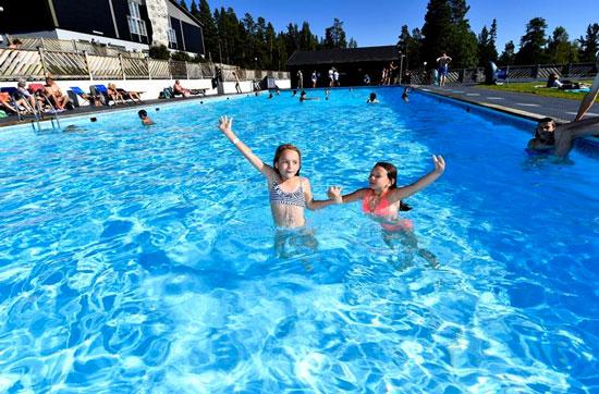 Vakantie Zweden met zwembad