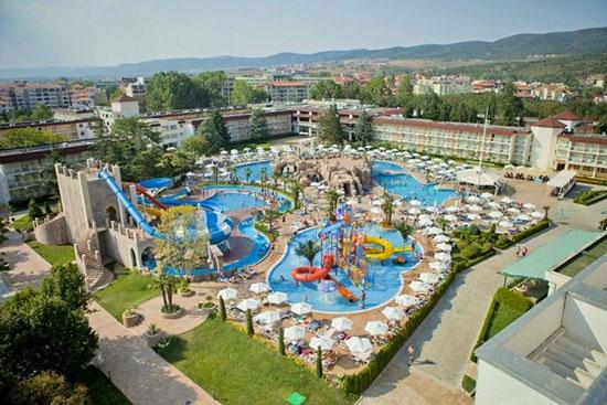 Onvergetelijke vakantie vanuit luxe hotel in Bulgarije met waterpark