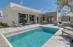 Vakantiewoningen met privé-zwembad