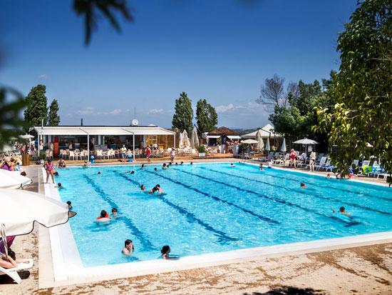 Camping in Rome met zwembad