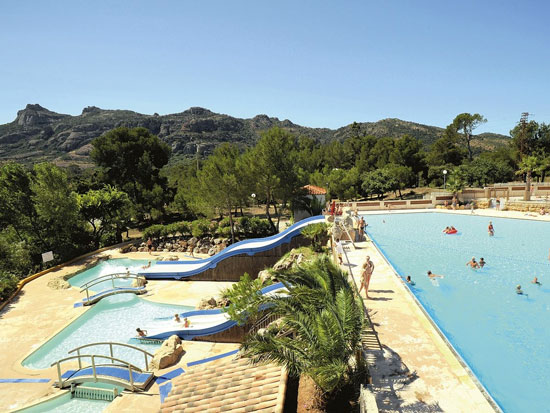 Gezellige camping met ideale ligging in Roquebrune