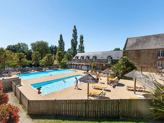 Camping Bretagne met zwembad