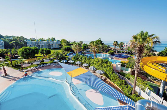 Luxe resort Side met zwembad