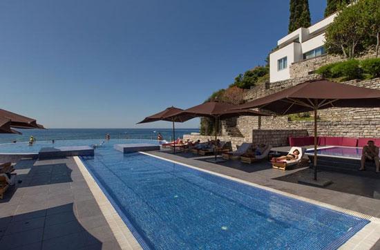 Hotel met droomzwembad Budva
