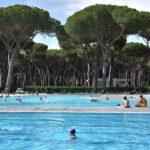 4-sterren camping met 3 zwembaden vlakbij Rome