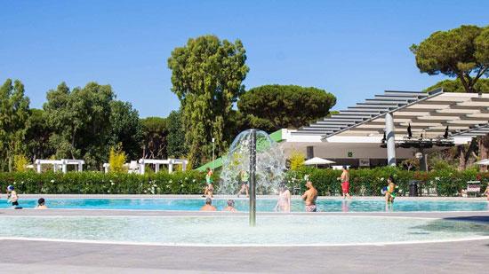 Camping Rome met zwembad