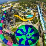 Enorm aquapark bij resort in Kusadasi