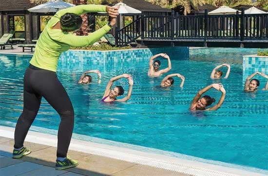 Resort Ras Al Khaimah met zwembad