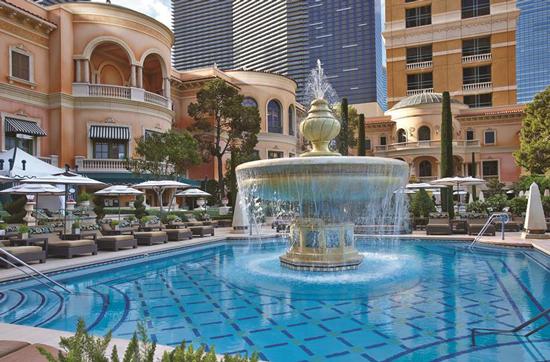Hotel Las Vegas met groot zwembad