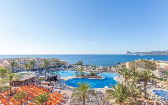 Hotel met droomzwembad Ibiza
