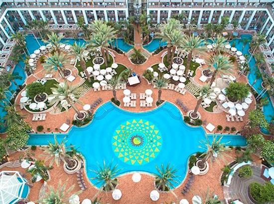 Luxe hotel Israël met zwembad