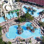 Aquapark met spectaculaire glijbanen bij luxe resort in Kemer