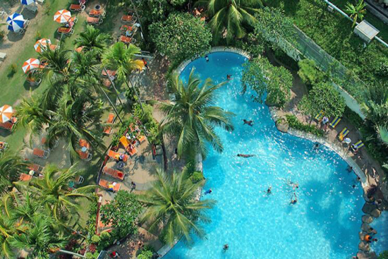 Vakantie Maleisië met groot zwembad