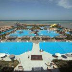 Een gigantisch aquapark bij een mooi hotel in Egypte