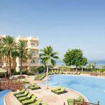 Mooi vijfsterren hotel in Oman met immens zwembad
