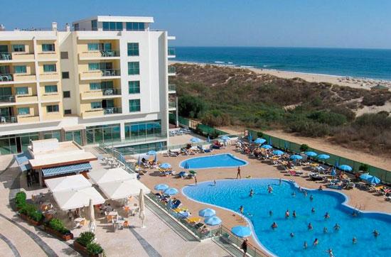 Appartement Algarve met zwembad aan het strand