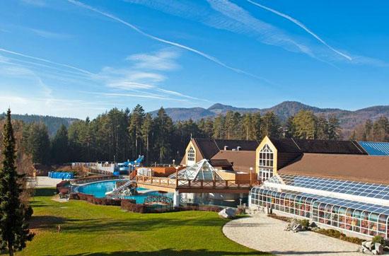 Groot aquapark in Slovenië
