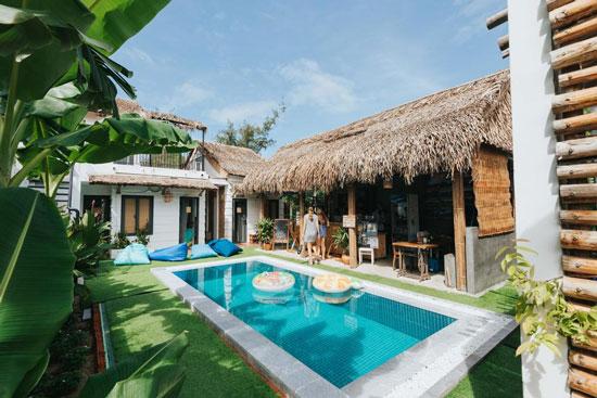 Mooi hostel vlakbij het strand in Vietnam
