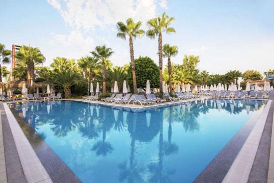 Resort Alanya met groot zwembad