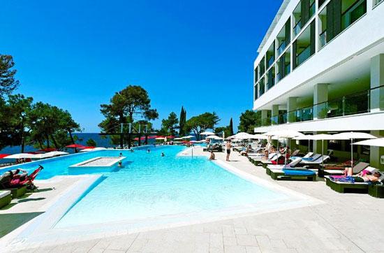Hotel Porec met zwembad