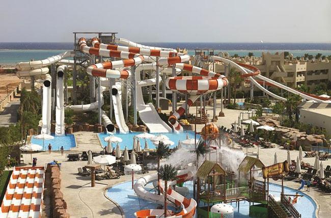 Aquapark in Sharm el Sheikh, Egypte