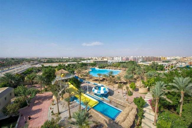 Hotel met zwemparadijs in Hurghada