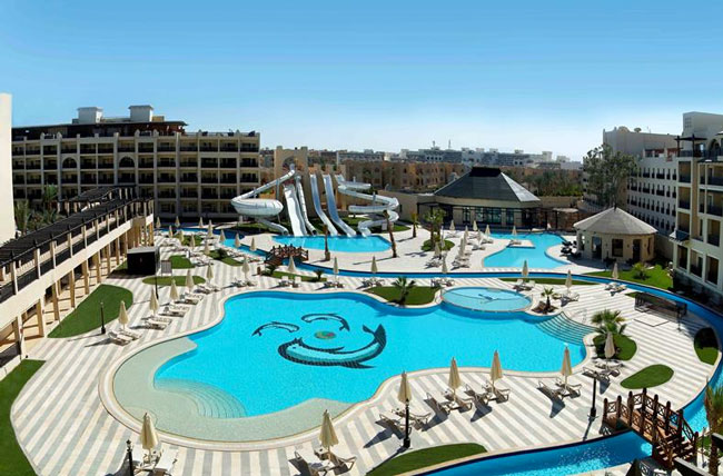 All-inclusive zwembadvakantie in Egypte