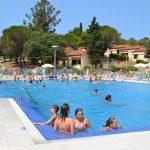 Gezellig bungalowpark in Kroatië aan een verborgen baai